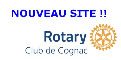Nouvelle version du site Web du Rotary club de Cognac