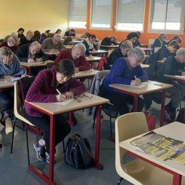 Dictée du Rotary – 16 Mars 2019 – Article Journal Sud Ouest